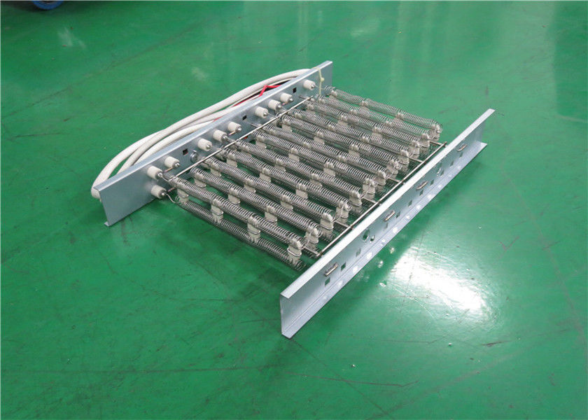 Multi Function Electric Heat Strips Open Coil Heating Elements 18 Months Warranty